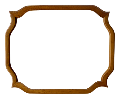 Old PNG Wooden Frame, Rendering, Oval, Old, Tumbled Frame PNG Images