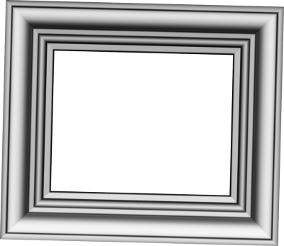 Gray Photo Frame Clipart, Gray Frame, Layered Frame PNG Images