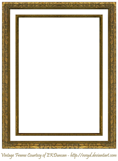 PNG Embroidered Brown Frame, Decorative, Photo Frame PNG Images