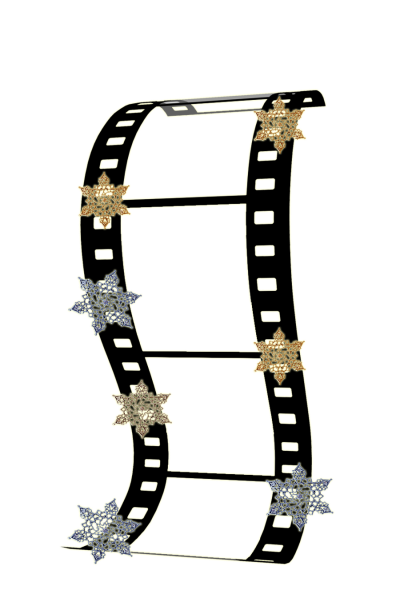 Film Strip Frame image, Tumbled, Flowery Frame PNG Images
