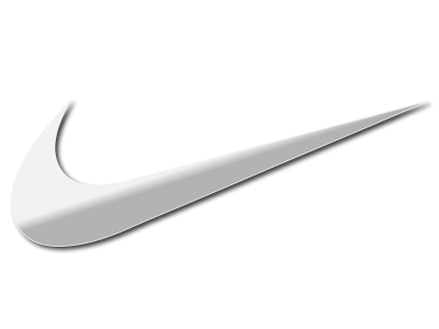 Nike Logo Silver PNG Picture