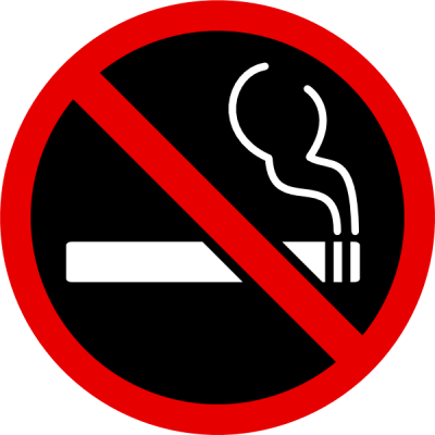 No Smoking Black Red PNG Images