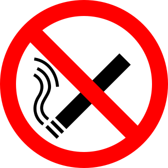 No Smoking Here Png PNG Images