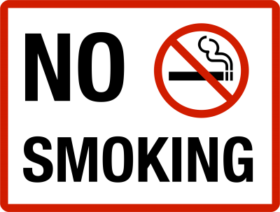 No Smoking icon And Text PNG Images