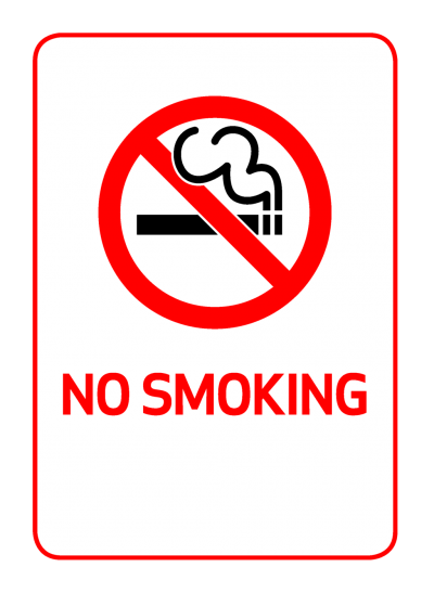 No Smoking Icon Symbol
