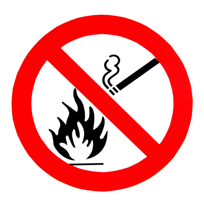 No Smoking, No Fire, Sign Png PNG Images