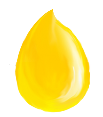 Yellow Drop Of Oil Photo PNG Images