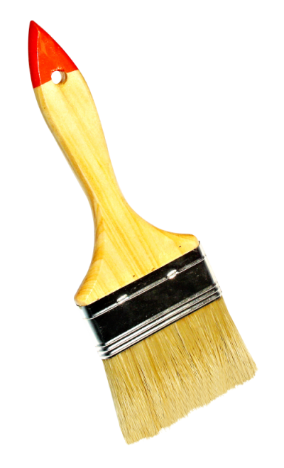 Yellow Paint Brush Transparent