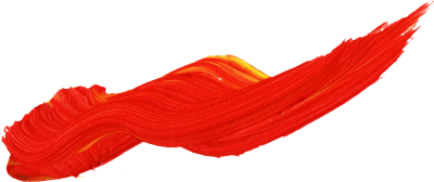 Red Yellow Wall Paint Brush Png PNG Images