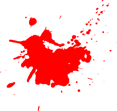 Red Paint Splatter Transparent PNG Images