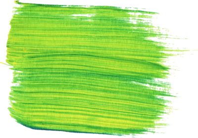 Green Paint Transparent Background