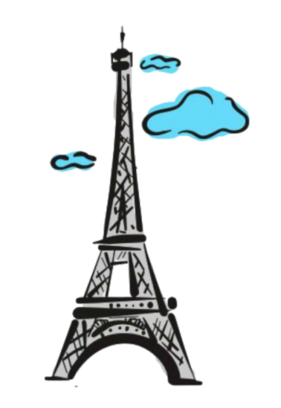 Paris Transparent Picture PNG Images