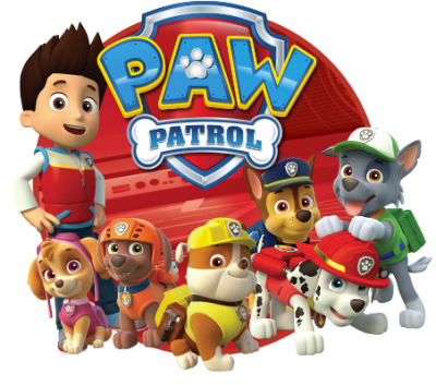 Paw Patrol Simple PNG Images