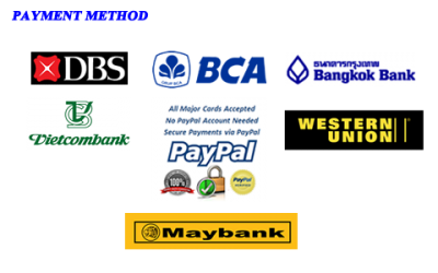 DBS, BCA, Paybal, Maybank Payment Method Image PNG Images