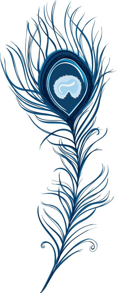 Peacock Feather Clipart Pic