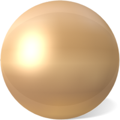 Gold Pearl Png