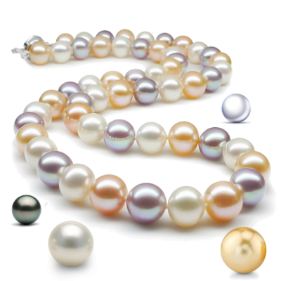 Pearl Necklace Designs Pictures PNG Images