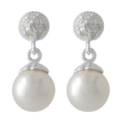 Pure Pearls, Beads, Earrings,  Png