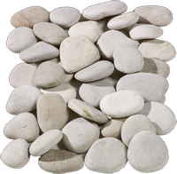 White Pebble Stone Png Transparent Picture PNG Images