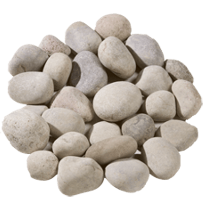 White Pebble Stones Transparent Png PNG Images