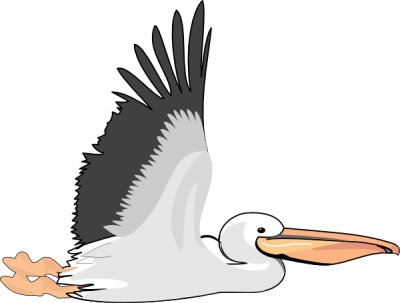 Old Pelican Clip Art At Png PNG Images