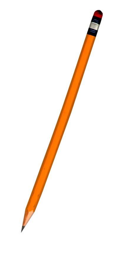 Orange Small Pencil Png Clipart PNG Images