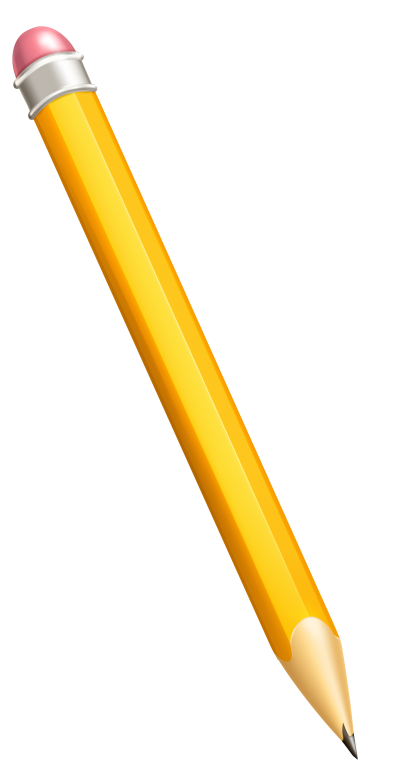 Wonderful Yellow Lead Pencil Graphics Png Transparent PNG Images