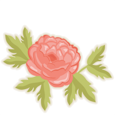 Peony Cut Out PNG Images