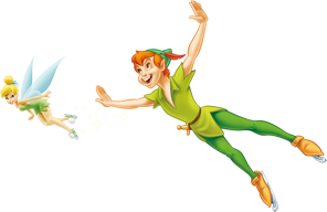 Angel Girls And Peter Pan Png PNG Images