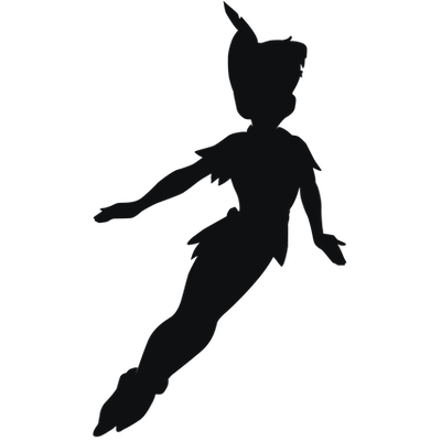 Dark Peter Pan Shadow Transparent Png PNG Images