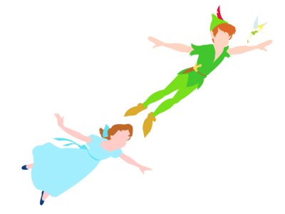 Peter Wendy And Tink Pictures PNG Images