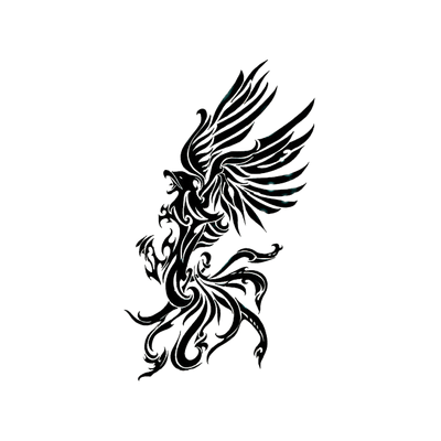 Phoenix Tattoos Transparent PNG Images