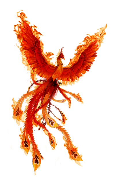 Phoenix Fire Bird PNG Icon PNG Images