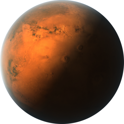 Beautiful Mars Planet Png Clipart Download PNG Images
