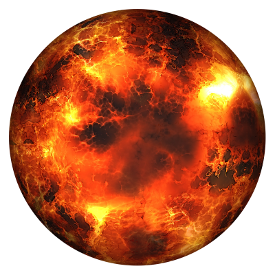 Lava World Planet Background Transparent PNG Images