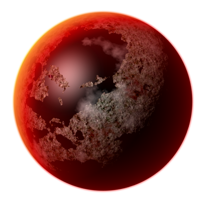Red World Planet Transparent Png PNG Images