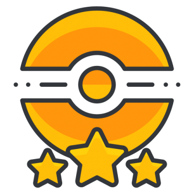 Star With Pokemon Go Logo Png PNG Images