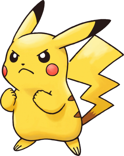 Pikachu Pokemon Transparent Background PNG Images