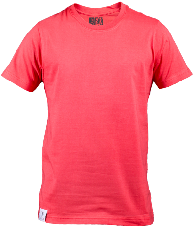 Pink Round Neck Men Polo T-shirt PNG PNG Images