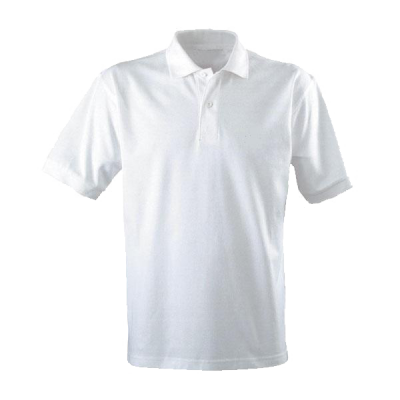 Transparent Image White Polo Shirt PNG Images