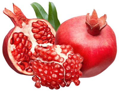 Pomegranate Fresh Drink Clipart Image
