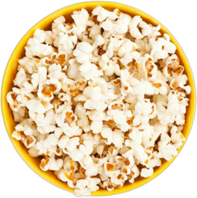 Popcorn Simple PNG Images