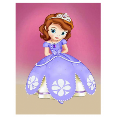 Princess Sofia Simple PNG Images