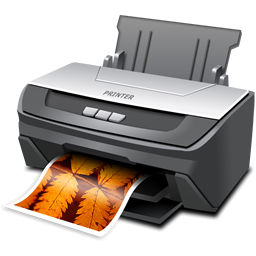 Printer Cut Out PNG Images