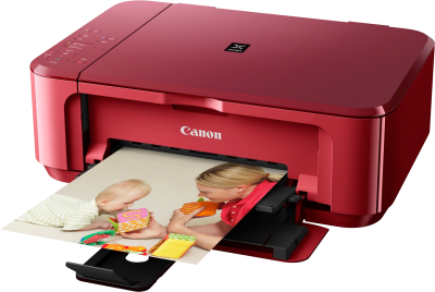 Red CAnon Printer Picture PNG Images