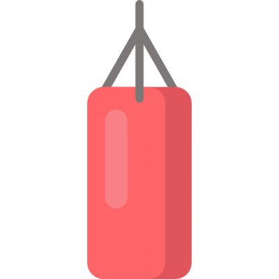 Classic Boxing Bag, Boxing, Punching Bag Icon Png PNG Images