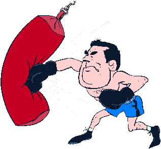 Punching Bag. Classic Boxing Bag, Round, Leather Boxing, Leather Bag, Sports, Punching Bag Clipart