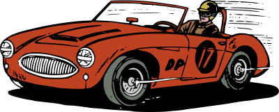 Race Old Car Cut Out PNG Images