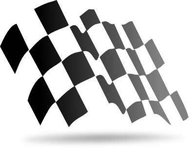 Sports Checkered Flag Png PNG Images