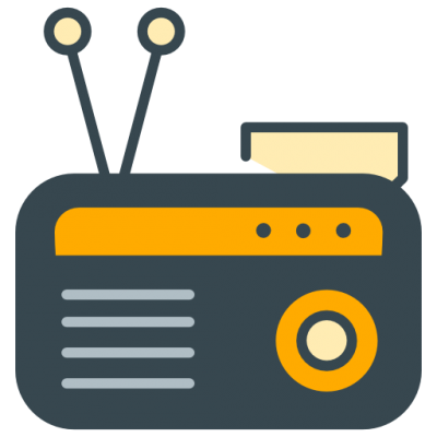 Transparent Radio PNG Images